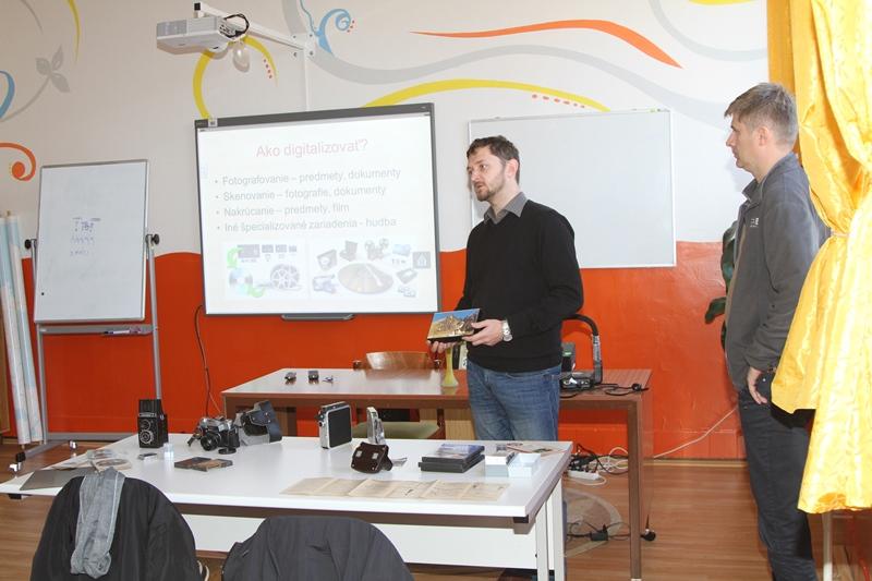 Prezentácia o digitalizácii kultúrneho dedičstva